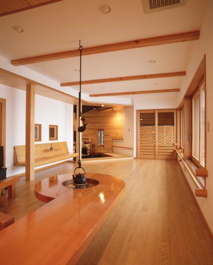 顔振峠 山頂の週末住宅(飯能市)【空と稜線の間で】の写真8