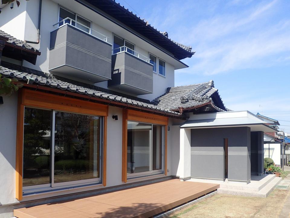 築40年 入母屋瓦屋根の日本家屋 リノベーションの写真5