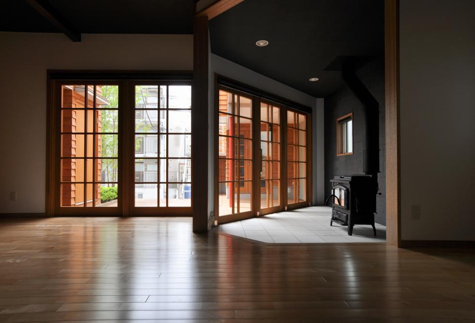 雛壇ステージ&中庭デッキテラスの家の写真9