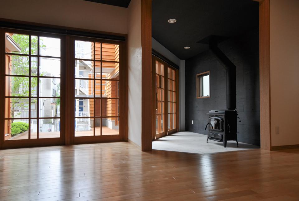 雛壇ステージ&中庭デッキテラスの家の写真10