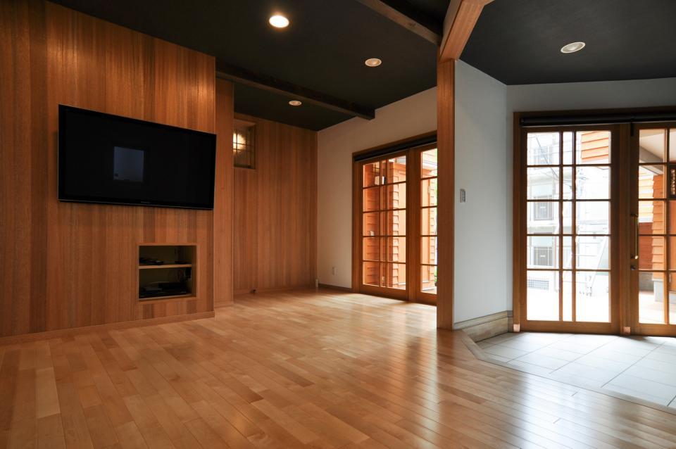 雛壇ステージ&中庭デッキテラスの家の写真11