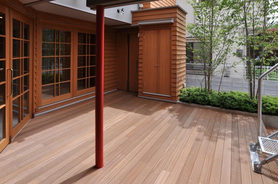 雛壇ステージ&中庭デッキテラスの家の写真7