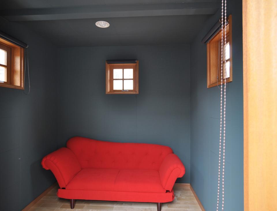 雛壇ステージ&中庭デッキテラスの家の写真8