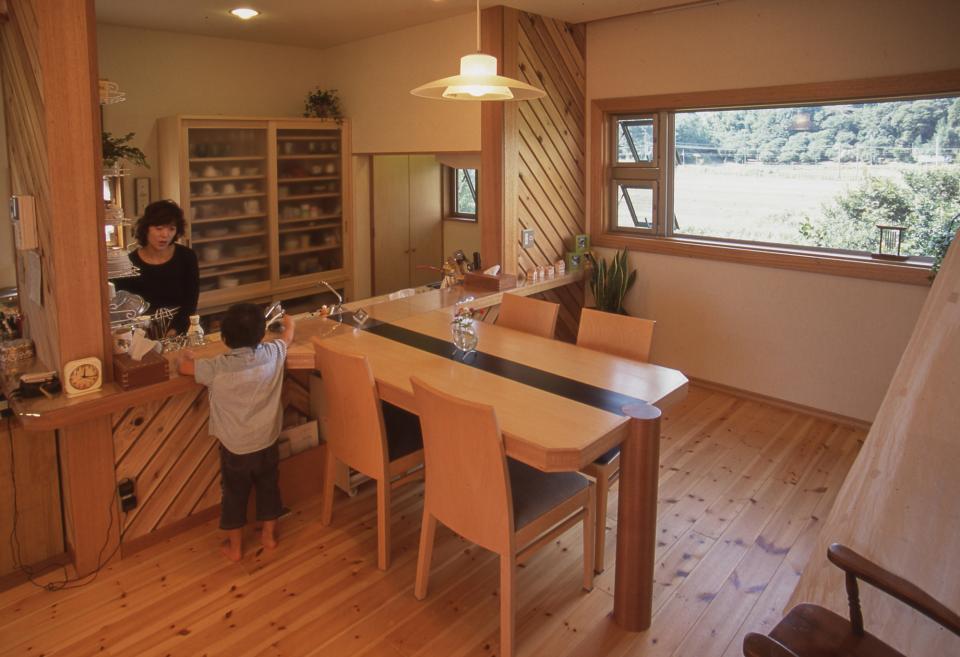 2階リビング&円形バルコニーの2世帯住宅の写真9
