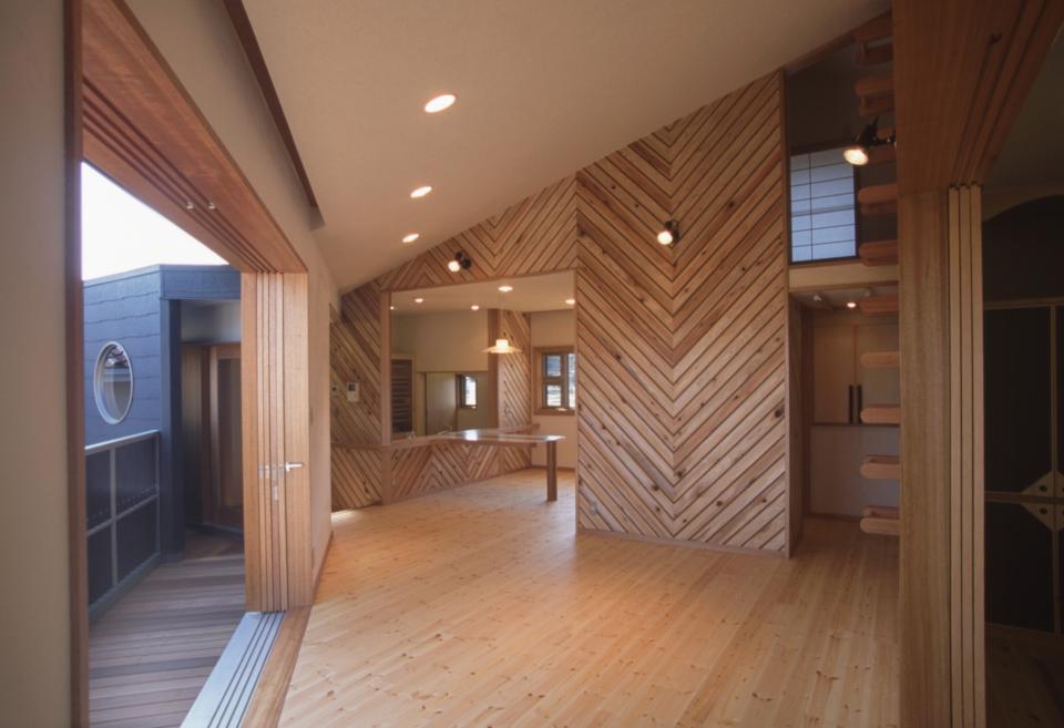 2階リビング&円形バルコニーの2世帯住宅の写真11