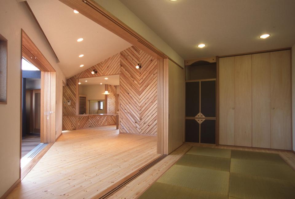 2階リビング&円形バルコニーの2世帯住宅の写真12