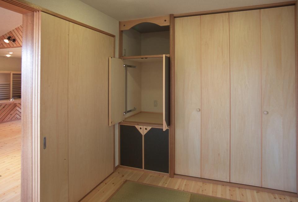 2階リビング&円形バルコニーの2世帯住宅の写真13