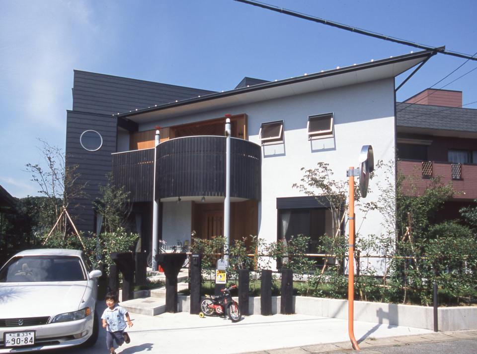 2階リビング&円形バルコニーの2世帯住宅の写真15