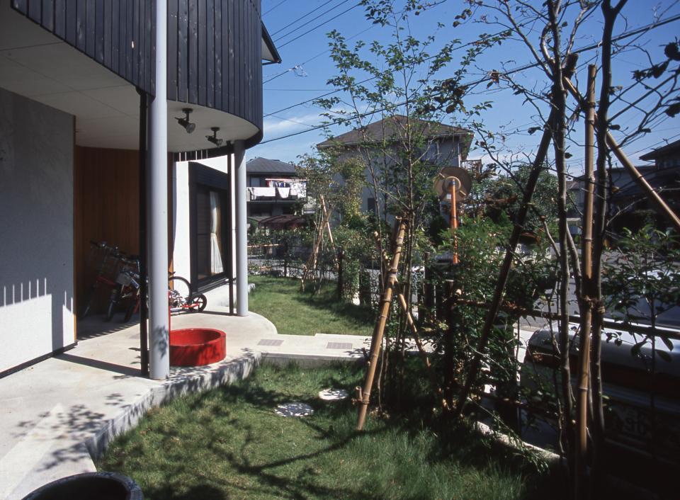 2階リビング&円形バルコニーの2世帯住宅の写真18