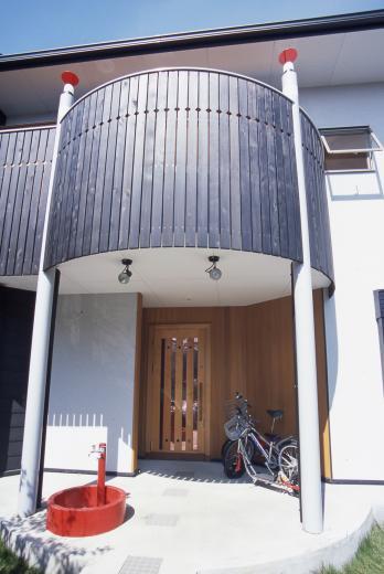 2階リビング&円形バルコニーの2世帯住宅の写真19