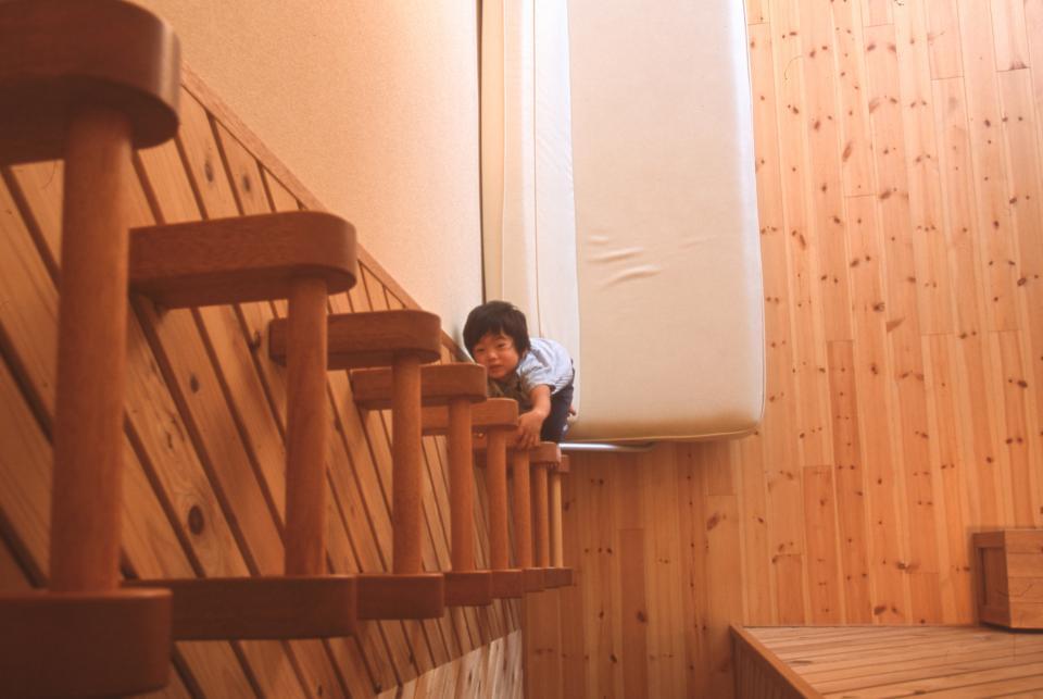 2階リビング&円形バルコニーの2世帯住宅の写真4