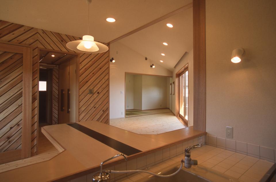 2階リビング&円形バルコニーの2世帯住宅の写真8