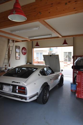 ガレージ&ロフト 吹き抜けリビングの家の写真7