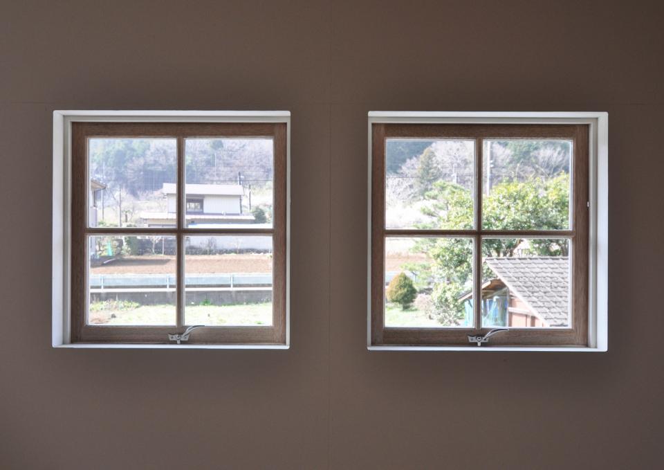 アンティーク部材(施主支給)と塗装仕上げの家の写真14