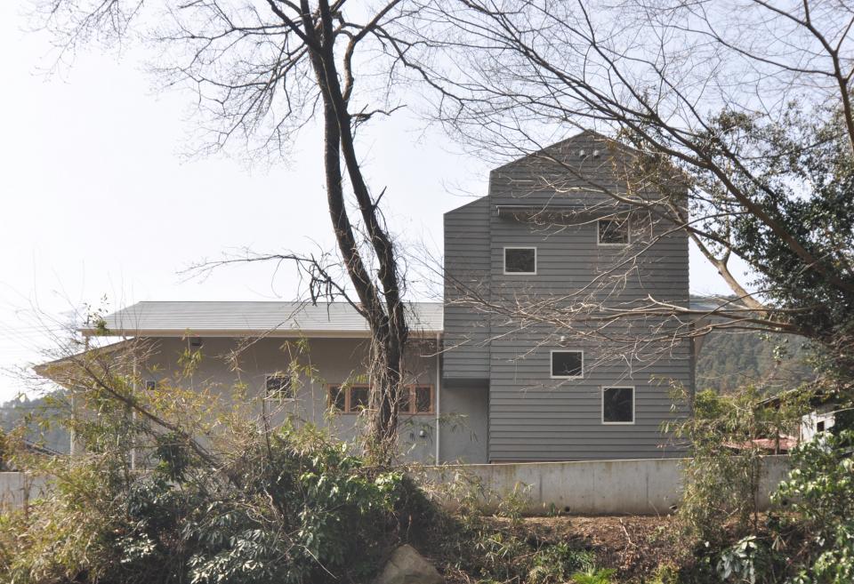 アンティーク部材(施主支給)と塗装仕上げの家の写真19
