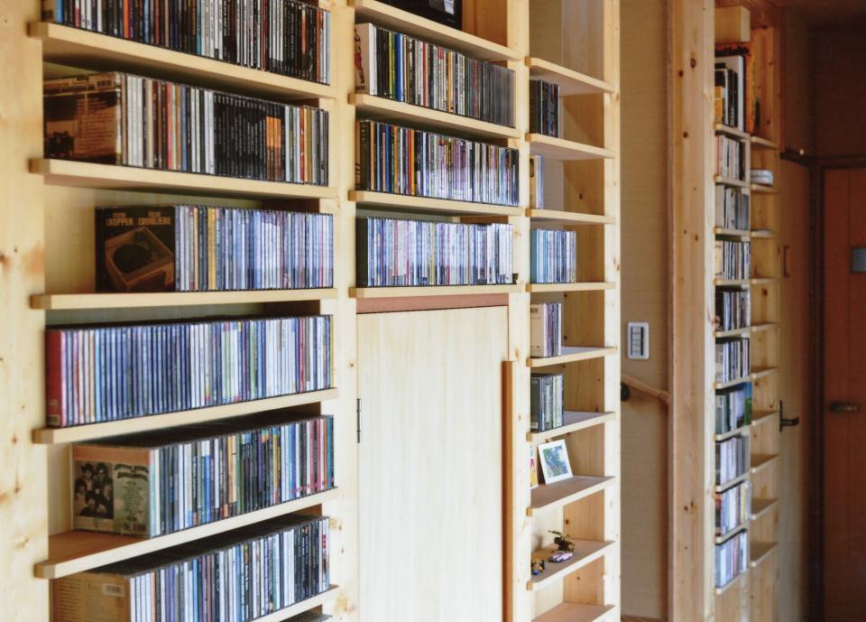 外で音楽を聴いてもいいよね 屋根のあるアウトドアリビングの写真18