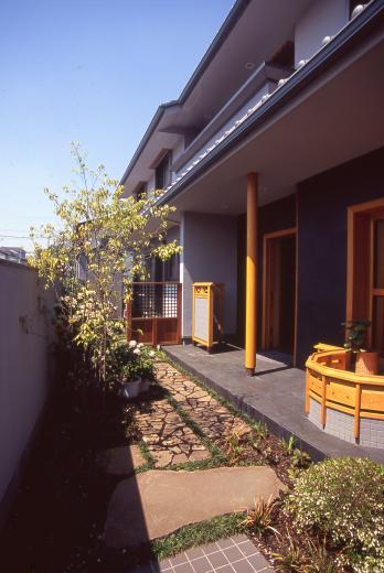 茶道家のための和空間:荻窪の家の写真11
