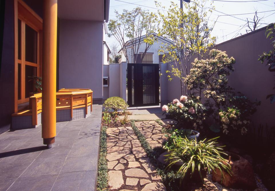 茶道家のための和空間:荻窪の家の写真13
