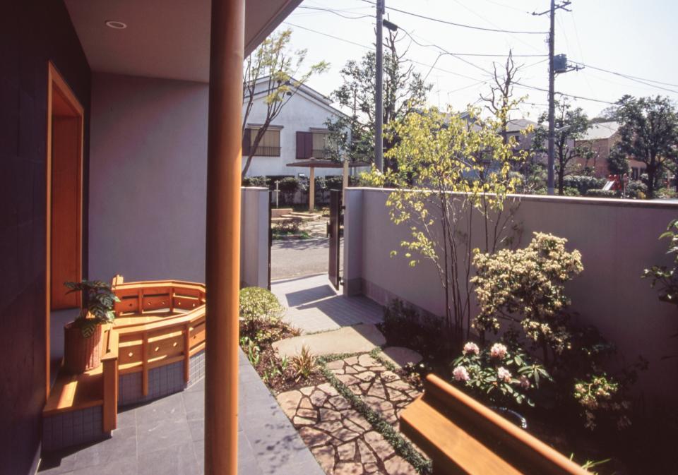 茶道家のための和空間:荻窪の家の写真14