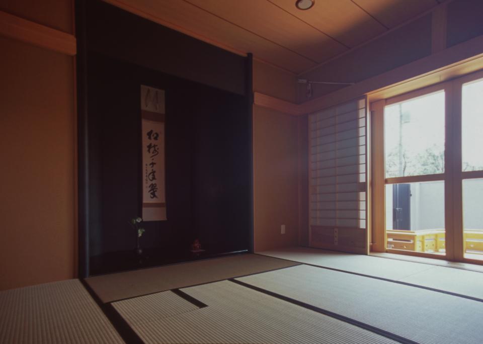 茶道家のための和空間:荻窪の家の写真5