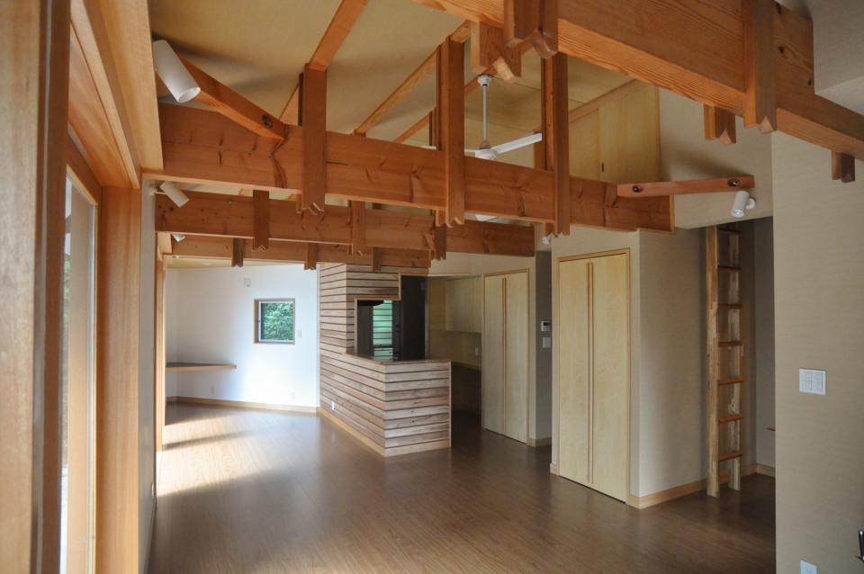 武蔵野・雑木林の中に建つ平屋の写真10