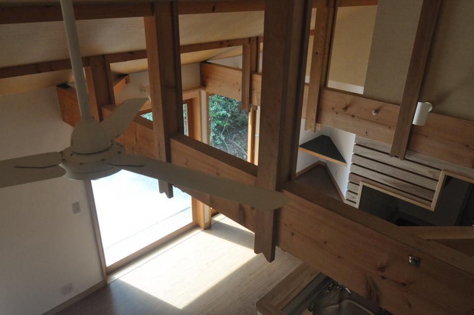 武蔵野・雑木林の中に建つ平屋の写真11