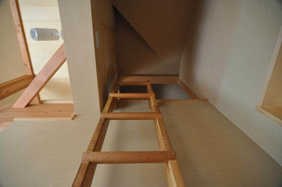 武蔵野・雑木林の中に建つ平屋の写真13