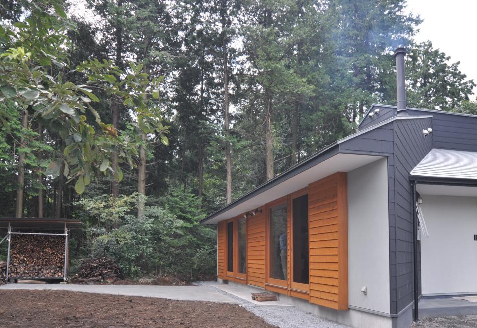 武蔵野・雑木林の中に建つ平屋の写真3
