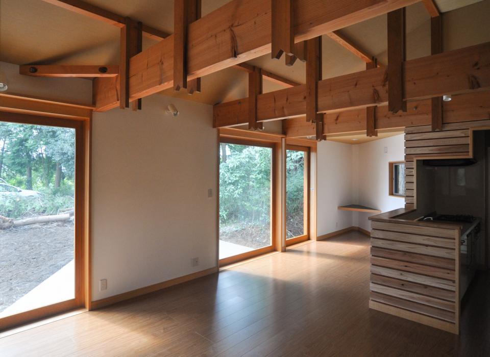 武蔵野・雑木林の中に建つ平屋の写真6