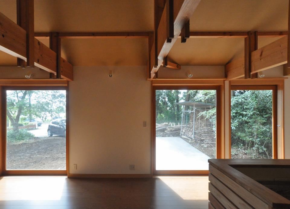 武蔵野・雑木林の中に建つ平屋の写真7
