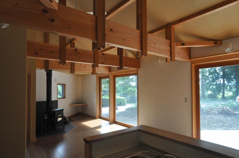 武蔵野・雑木林の中に建つ平屋の写真8