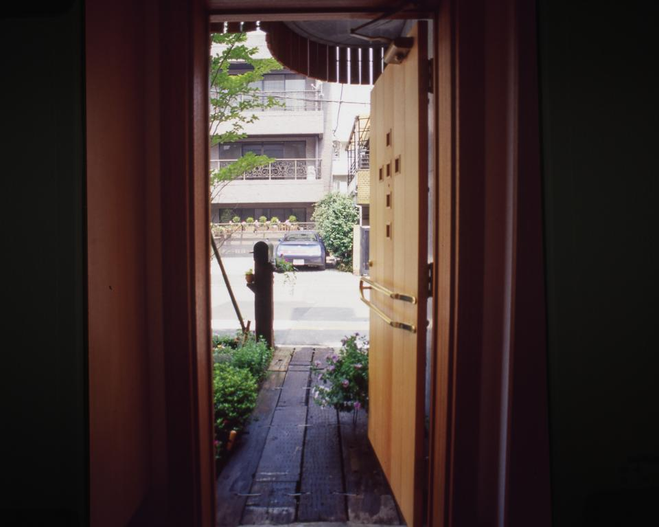 [1F:RC造+2.3F:木造の混構造] 極小3階建て住宅の写真10