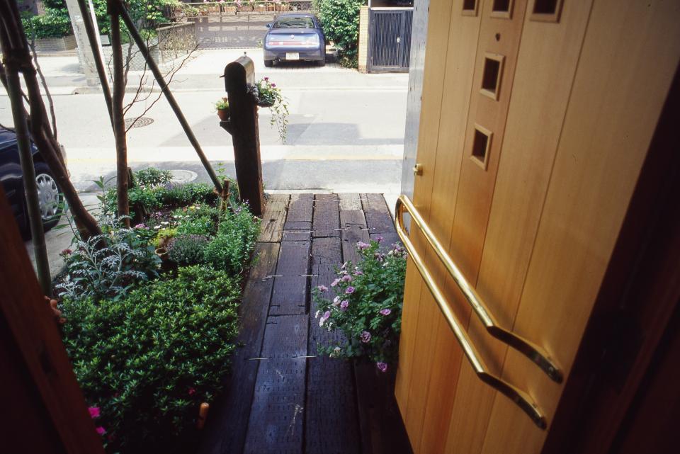 [1F:RC造+2.3F:木造の混構造] 極小3階建て住宅の写真11