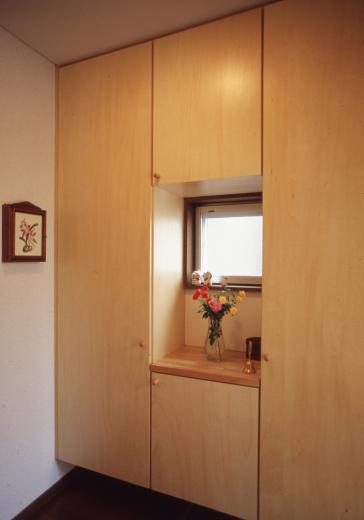 [1F:RC造+2.3F:木造の混構造] 極小3階建て住宅の写真12