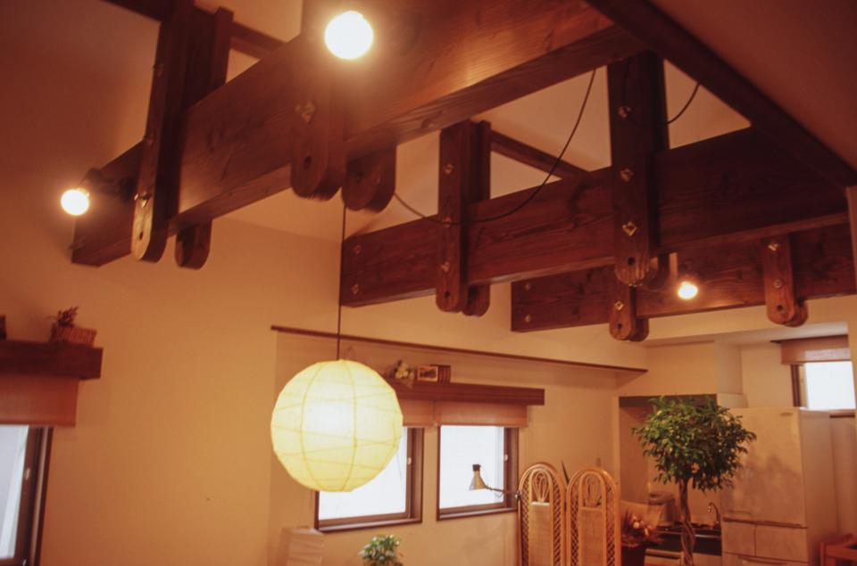 [1F:RC造+2.3F:木造の混構造] 極小3階建て住宅の写真16