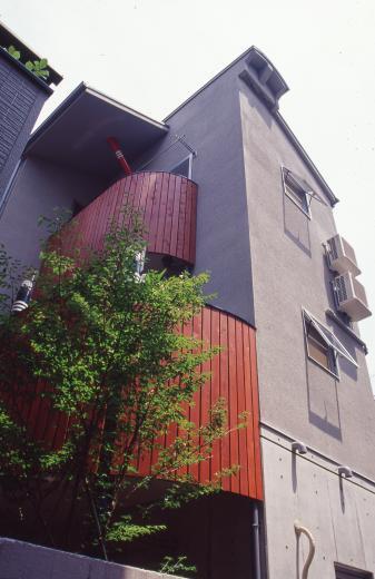 [1F:RC造+2.3F:木造の混構造] 極小3階建て住宅の写真7