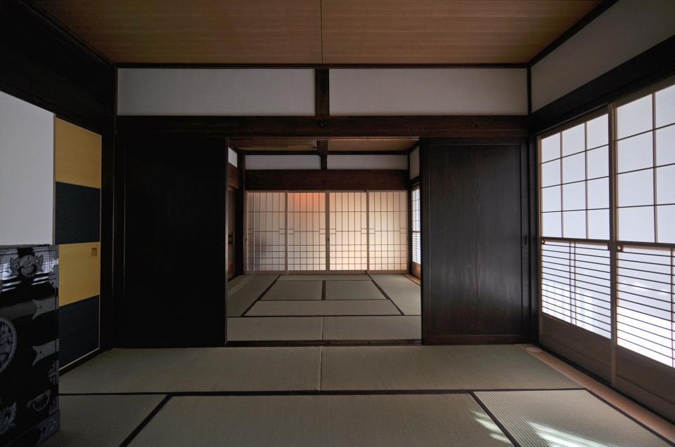 日本家屋の玄関・客間・仏間兼居間・寝室の改修の写真9
