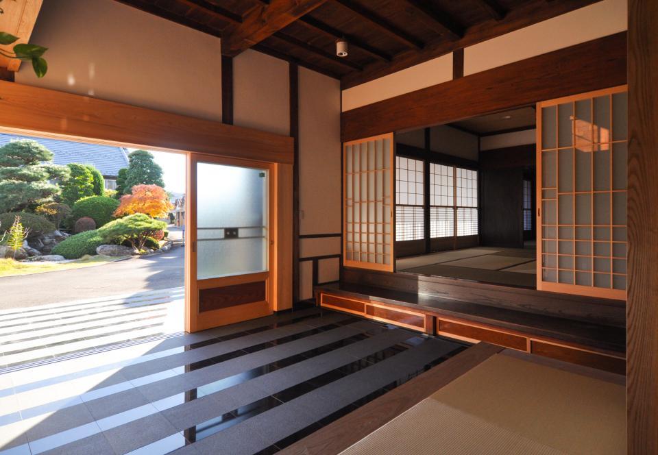 日本家屋の玄関・客間・仏間兼居間・寝室の改修の写真10