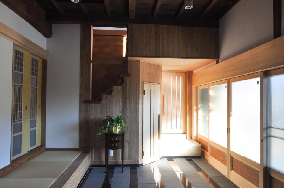 日本家屋の玄関・客間・仏間兼居間・寝室の改修の写真12