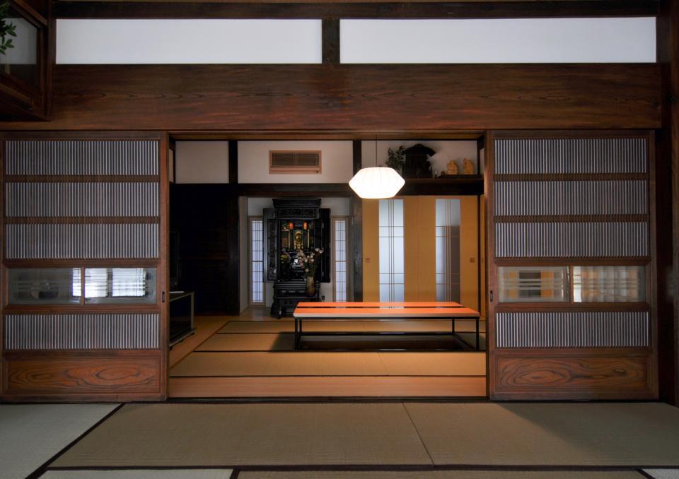 日本家屋の玄関・客間・仏間兼居間・寝室の改修の写真2