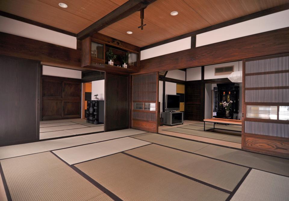 日本家屋の玄関・客間・仏間兼居間・寝室の改修の写真3
