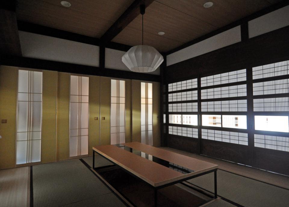 日本家屋の玄関・客間・仏間兼居間・寝室の改修の写真4