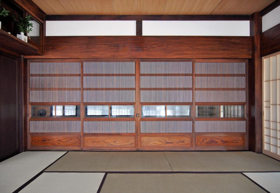 日本家屋の玄関・客間・仏間兼居間・寝室の改修の写真5