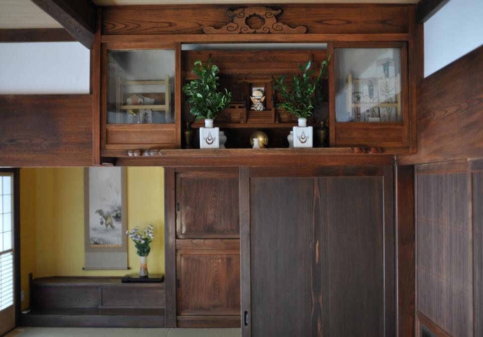 日本家屋の玄関・客間・仏間兼居間・寝室の改修の写真6