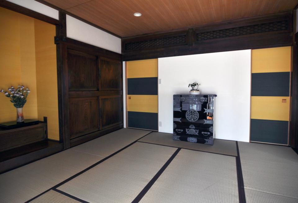 日本家屋の玄関・客間・仏間兼居間・寝室の改修の写真7