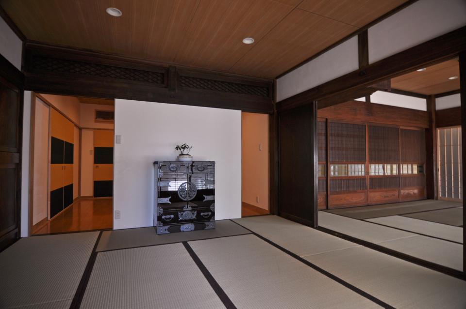 日本家屋の玄関・客間・仏間兼居間・寝室の改修の写真8