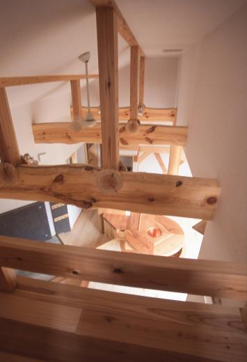 国産無垢材(栗駒材 自然素材)平屋の子育ての写真9