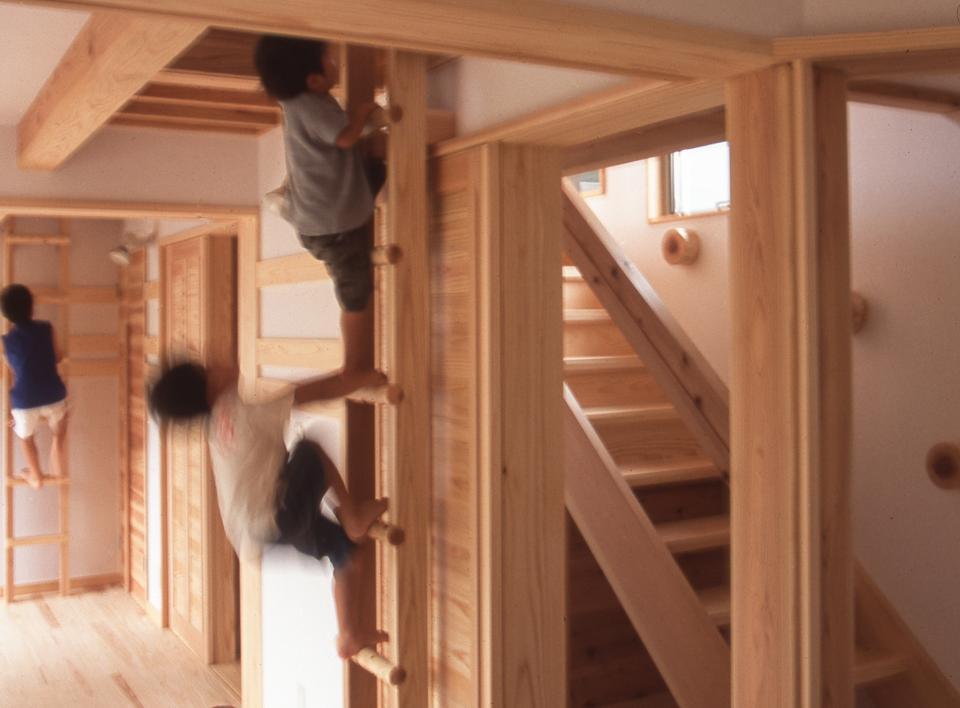 国産無垢材(栗駒材 自然素材)平屋の子育ての写真11