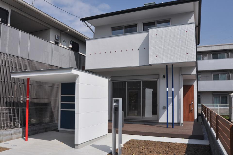 駅から5分 街中の住宅(川越市)の写真1