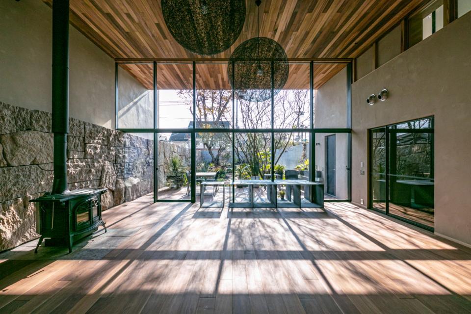 植物と生活する家の写真0